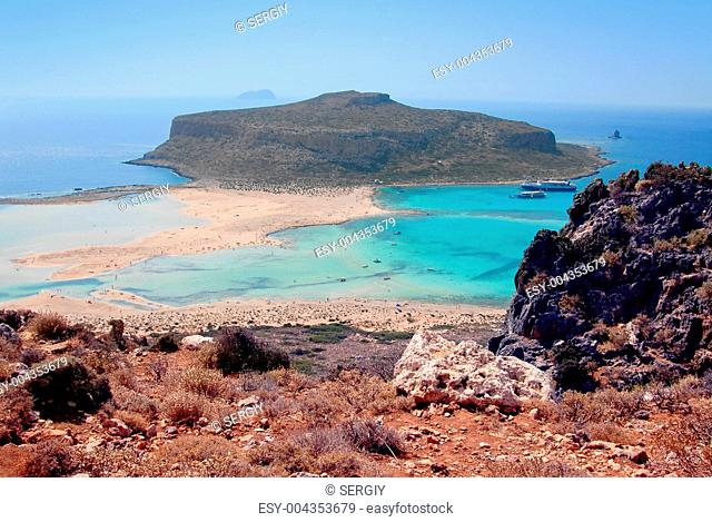 Outskirts of Crete where is pink sands