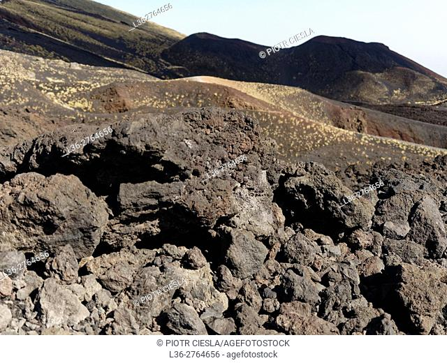 Etna, Sicily, Italy - at the footsteps of Etna