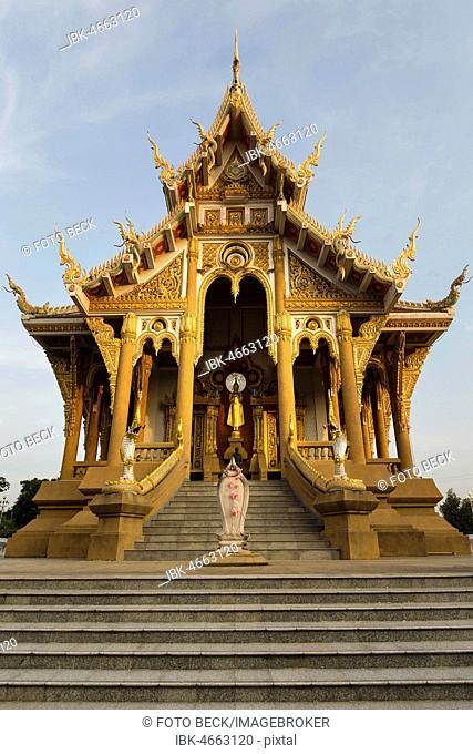 Saint Bot of Wat Pa Saeng Arun, Khon Kaen, Isan, Thailand
