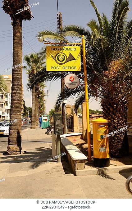Post office in Nicosia, Cyprus island