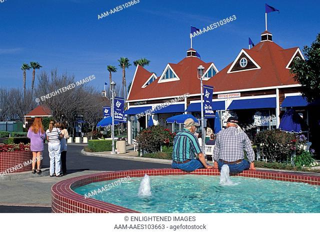 Shops at Ferry Landing, Coronado Island, San Diego, CALIFORNIA