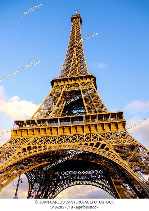 Eiffel Tower in Paris. France. Europe