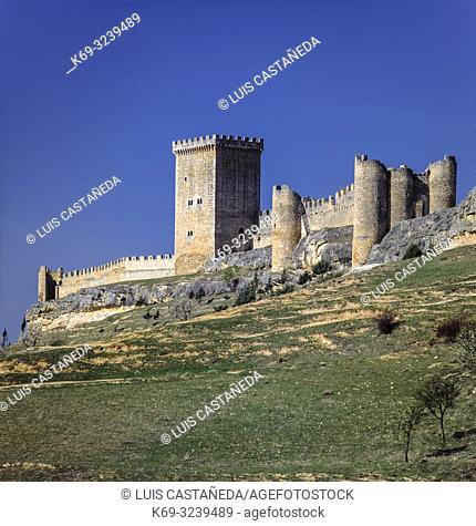 The castle of Peñaranda de Duero, Spain, is a well preserved Gothic castle in Burgos province. The castle originally dates from the 10th century but reforms by...