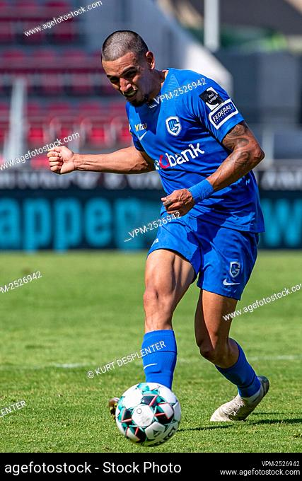 Genk's Daniel Munoz pictured in action during the Jupiler Pro League match between SV Zulte Waregem and KRC Genk, in Waregem, Sunday 09 August 2020