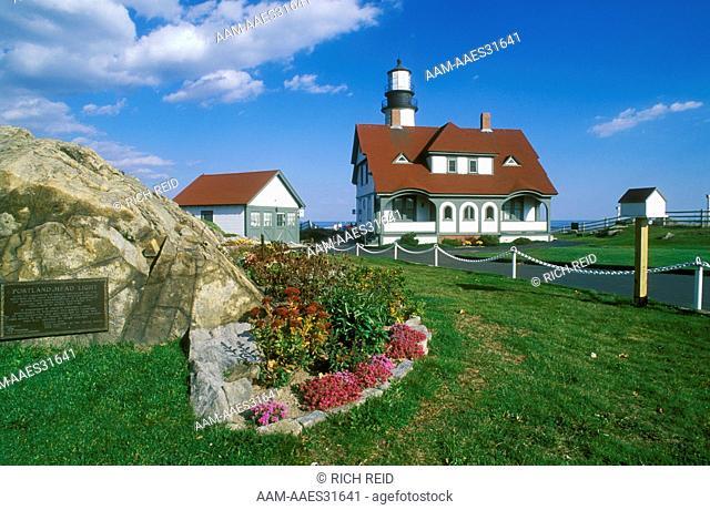 Portland Head Lighthouse on Cape Elizabeth, ME