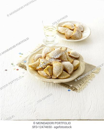 Carnival snacks filled with ricotta (Italy)