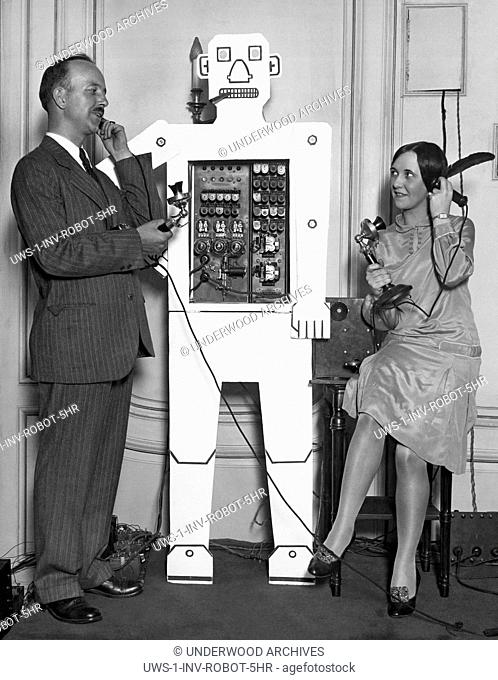 Chicago, Illinois: June 28, 1928.A new version of Televox was exhibited in at the Association of Iron and Steel Electrical Convention in Chicago