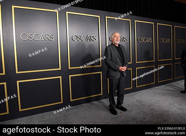 Oscar® nominee Robert DeNiro arrives at the Oscar Nominee Luncheon held at the Ray Dolby Ballroom, Monday, January 27, 2020