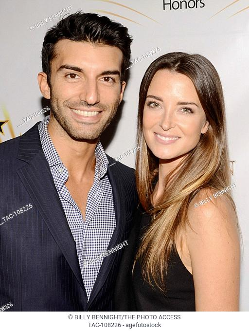 Justin Baldoni and Emily Foxler attends the Hollywood Walk of Fame Honors at Taglyan Complex on October 25, 2016 in Los Angeles, California