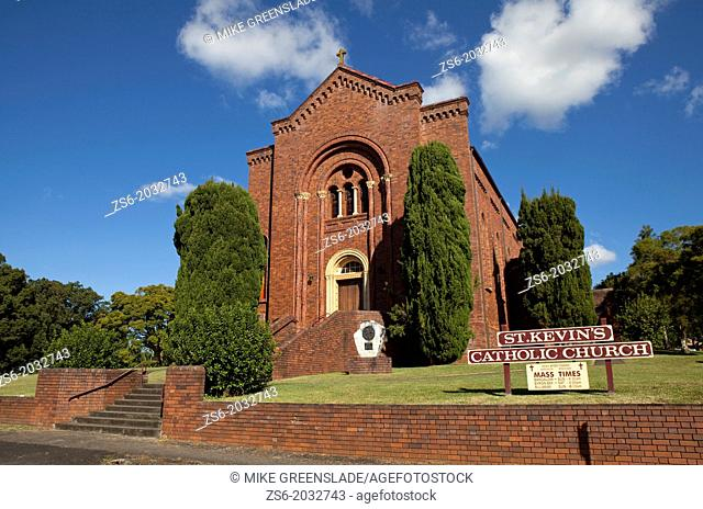 St Kevins Catholic Church, Bangalow, New South Wales, Australia
