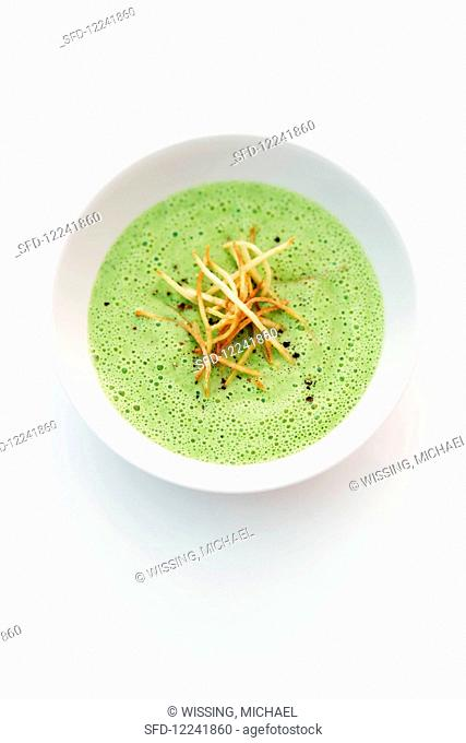 Hamburg parsley soup