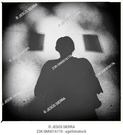 Abstract shadow, Man