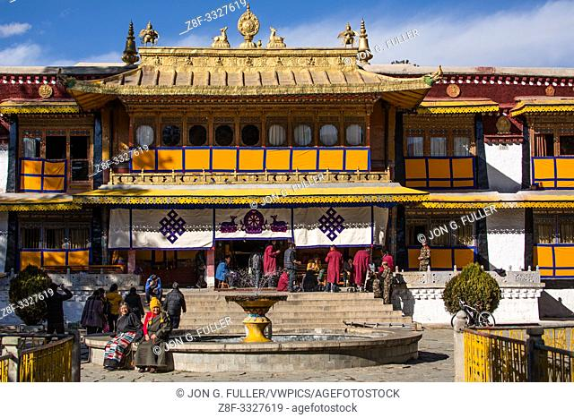 The Norbulingka Palace was the summer palace of the Dalai Lama from about 1755 until 1959. It is part of the Historic Ensemble of the Potala Palace