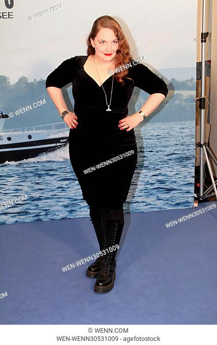 Photocall for ARD TV series 'WaPo Bodensee' at Arcotel Onyx. Featuring: Luci van Org Where: Hamburg, Germany When: 29 Nov 2016 Credit: WENN.com