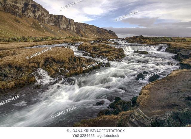 Kalfafell, Vik i Myrdal, Sudurland, Iceland, Europe