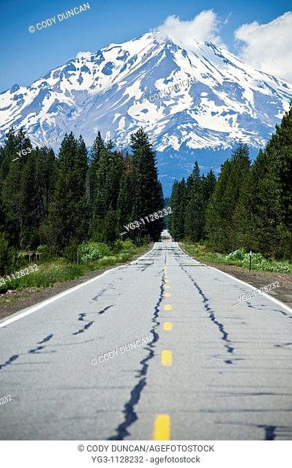 Mount Shasta, California - Viewed from highway 89