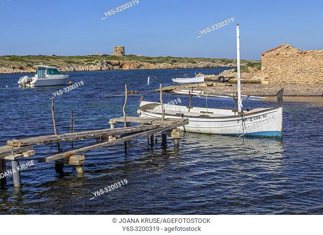 Port de Sanitja, Menorca, Balearic Islands, Spain, Europe