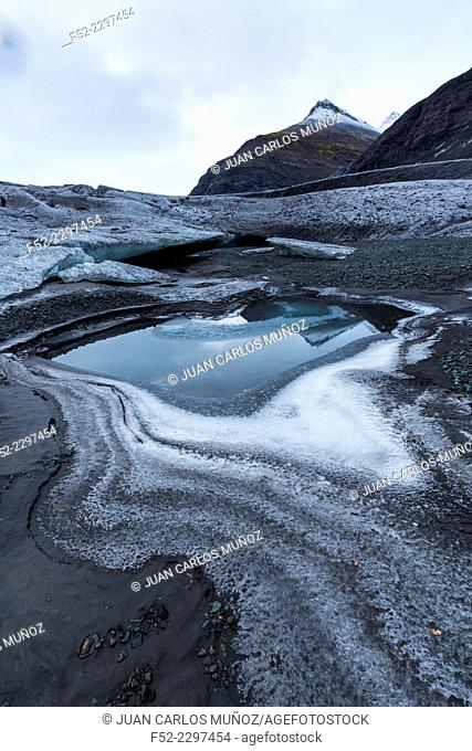 Vatnatjokull glacier, Southern Iceland, Iceland, Europe