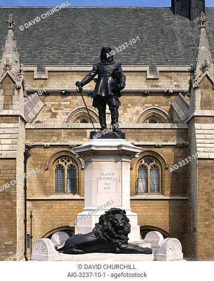 Statue of Oliver Cromwell, Westminster, London