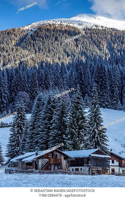 Valle Visdende, Province of Belluno, region of Veneto, Italy, Europe