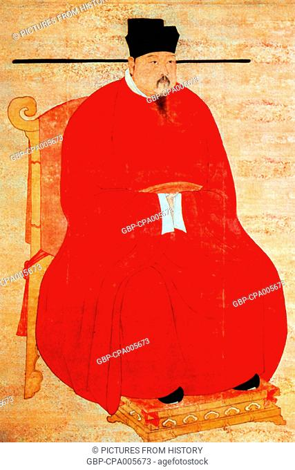 China: Emperor Zhengzong (Zhao Heng), 3rd ruler of the (Northern) Song Dynasty (r. 997-1022)