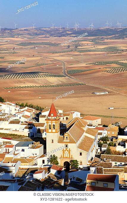 Teba, Malaga Province, Spain  Iglesia de la Santa Cruz Real
