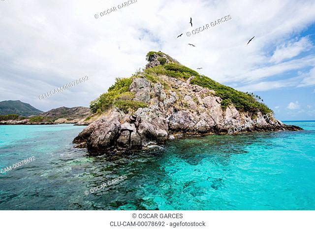 Keys Three Brothers, San Andres Island, Archipelago of San Andres, Providencia and Santa Catalina, Colombia