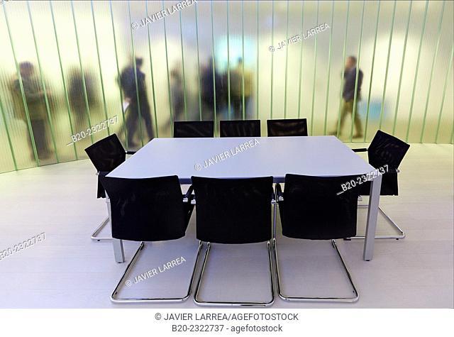 Executives. Meeting room. Office building. Technology Park. Zamudio. Bizkaia. Basque Country. Spain