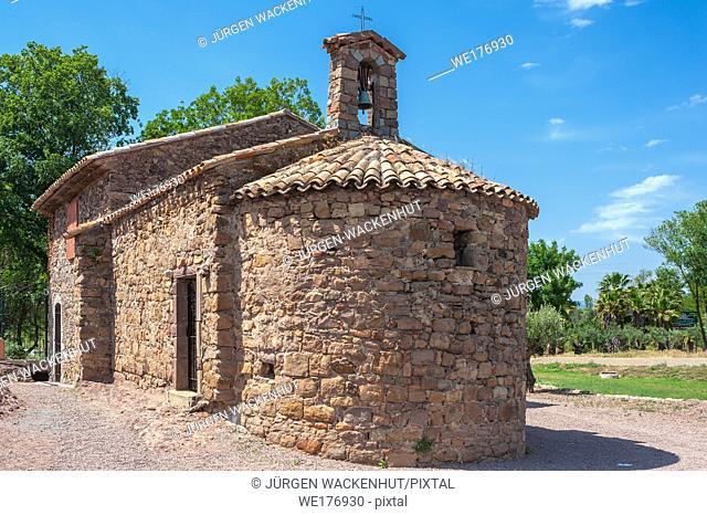 Chapel Saint-Roch, Roquebrune-sur-Argens, Var, Provence-Alpes-Cote d`Azur, France, Europe
