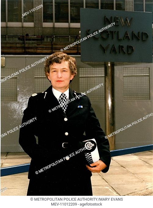Commander Jennifer Hilton (b.1936, from 1991 Baroness Hilton of Eggardon), Metropolitan Police (served from 1956 to 1990)