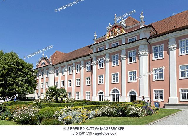 Neues Schloss, Oberstadt, Meersburg, Lake Constance, Baden-Württemberg, Germany
