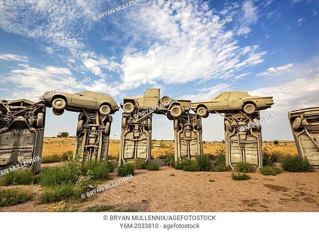 Cars arranged to replicate Stonehenge in England is called Carhenge, Alliance, Nebraska