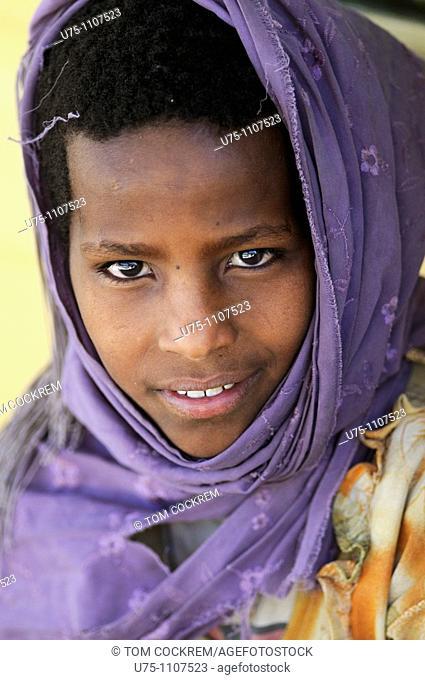 girl in axum ethiopia