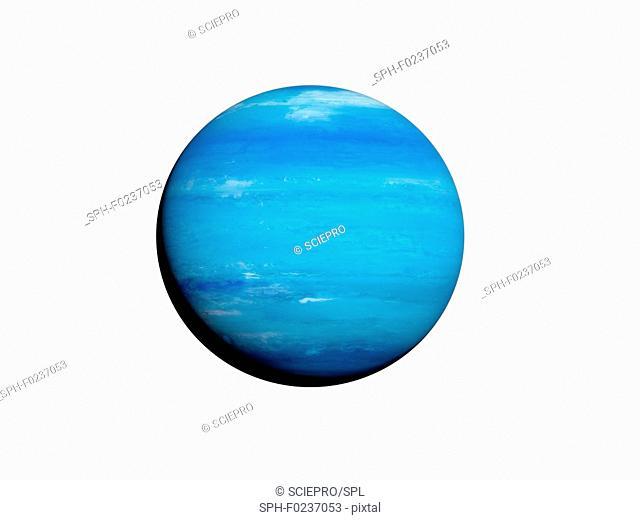 Illustration of Neptune