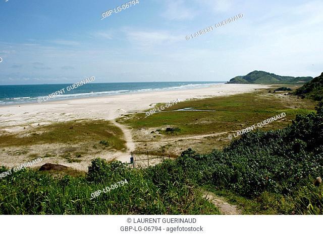 Beach Miguel, Ilha do Mel, Paraná, Brazil
