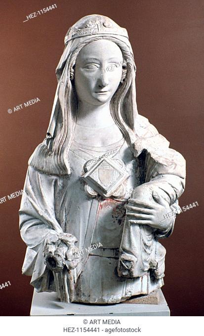 'Virgin and Child', 16th century. From the Museu Nacional de Machado de Castro, Portugal