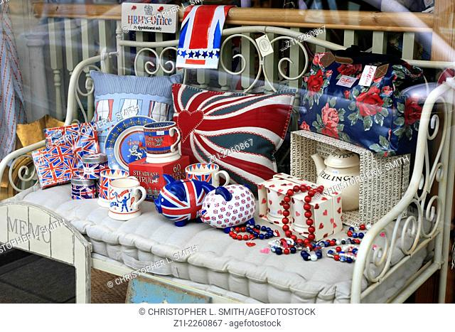 Patriotic ferver hits british stores in this Jubilee year