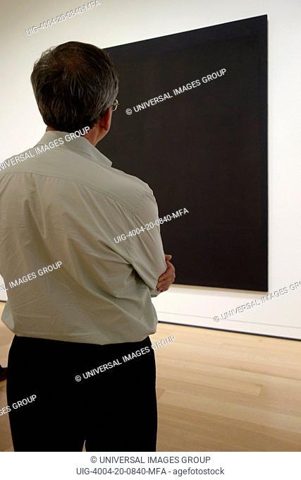 Art Work by Mark Rothko, Museum of Fine Arts, Boston, Massachusetts