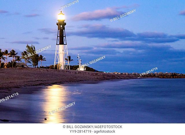 Hillsboro Inlet Lighthouse - Pompano Beach, Florida USA