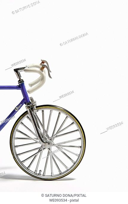toy model of racing bicycle