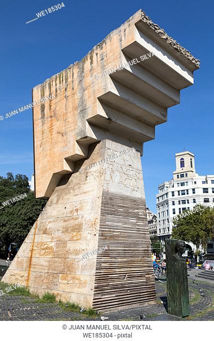 Plaza Catalunya, Barcelona, Spain