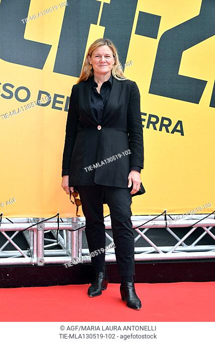 Ellen Kuras during 'Catch-22' TV show photocall, Rome, Italy - 13 May 2019