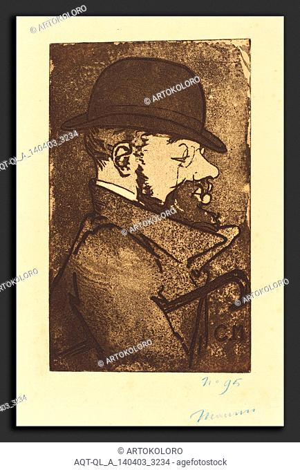Charles Maurin (French, 1856 - 1914), Henri de Toulouse-Lautrec, 1890, aquatint