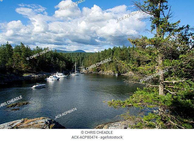 Smuggler Cove Marine Provincial Park, British Columbia, Canada