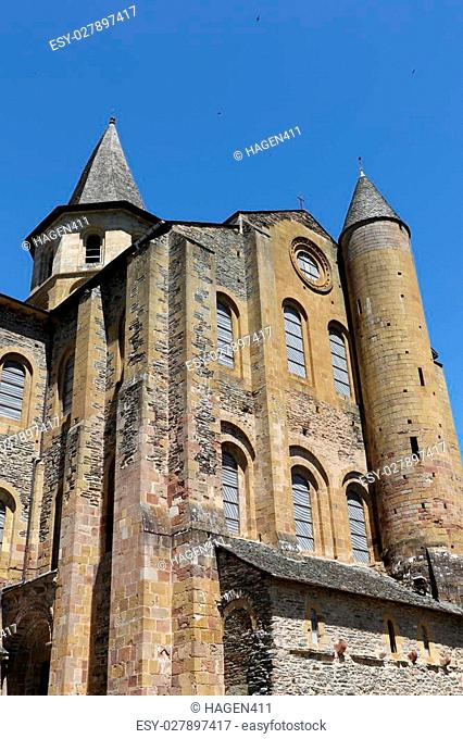 The church of Conques, France