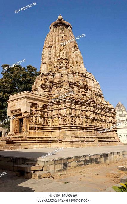 Vamana temple at Khajuraho.India