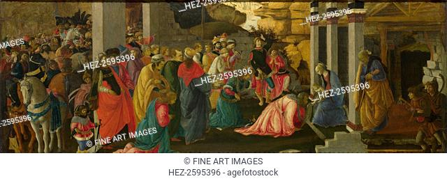 The Adoration of the Kings, ca 1470. Found in the collection of the National Gallery, London