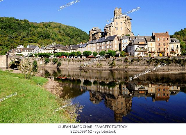 Estaing, Lot Valley, North Aveyron, Midi-Pyrénées, one of the most beautiful village in France