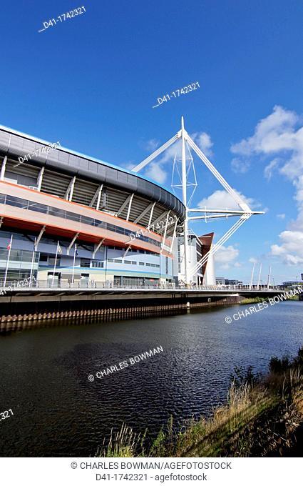 UK, Wales, Cardiff, Millenium Stadium