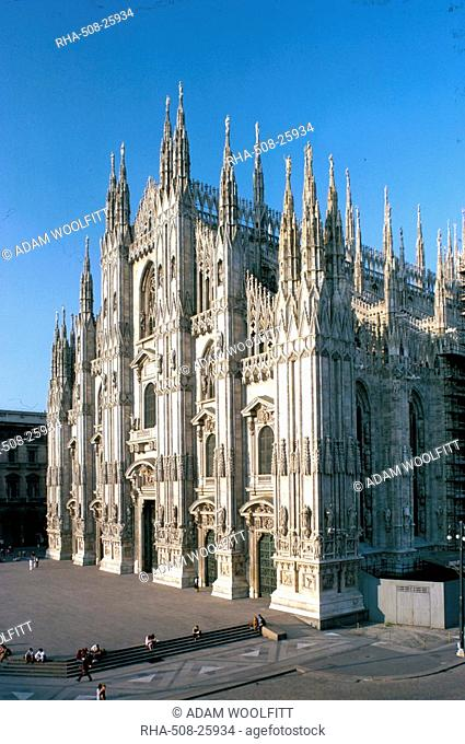 Milan cathedral, Milan, Lombardy, Italy, Europe